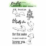 Picket Fence Studios - Clear Photopolymer Stamps - Like A Crafty Fox
