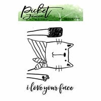 Picket Fence Studios - Clear Photopolymer Stamps - I Love Your Face