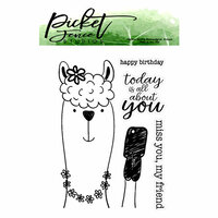Picket Fence Studios - Clear Photopolymer Stamps - Today Is All About You