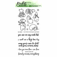 Picket Fence Studios - Clear Photopolymer Stamps - A Bear Kind of Winter