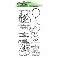 Picket Fence Studios - Clear Photopolymer Stamps - I Wish We Could Hug