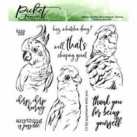 Picket Fence Studios - Clear Photopolymer Stamps - Pretty Birds