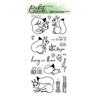 Picket Fence Studios - Clear Photopolymer Stamps - A Little Nuts