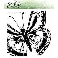Picket Fence Studios - Clear Photopolymer Stamps - Swallowtail Beauty