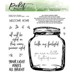 Picket Fence Studios - Clear Photopolymer Stamps - Fireflies on a Warm Night