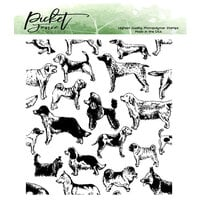 Picket Fence Studios - Clear Photopolymer Stamps - This Dog Is For You
