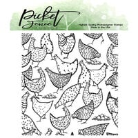Picket Fence Studios - Clear Photopolymer Stamps - More Hot Chicks