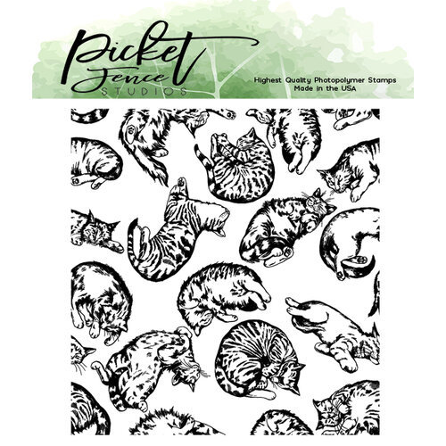 Picket Fence Studios - Clear Photopolymer Stamps - This Cat Is For You