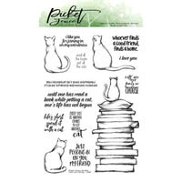 Picket Fence Studios - Clear Photopolymer Stamps - Cats Are Family