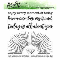 Picket Fence Studios - Clear Photopolymer Stamps - Spotlight On You