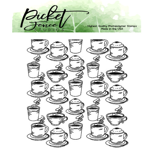 Picket Fence Studios - Clear Photopolymer Stamps - Need More Caffeine