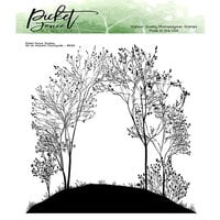 Picket Fence Studios - Clear Photopolymer Stamps - On An Autumn Countryside