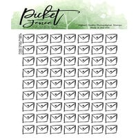 Picket Fence Studios - Clear Photopolymer Stamps - Loads of Mail