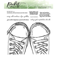 Picket Fence Studios - Clear Photopolymer Stamps - Walk, Crawl or Run