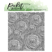 Picket Fence Studios - Clear Photopolymer Stamps - Round and Round We Go