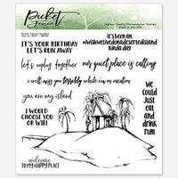 Picket Fence Studios - Clear Photopolymer Stamps - You or WiFi