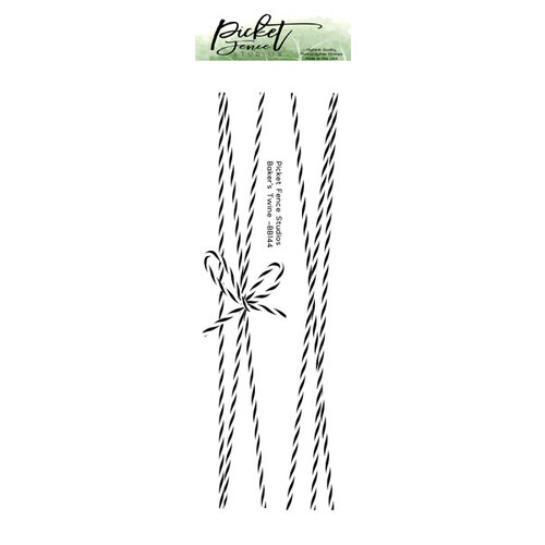 Picket Fence Studios - Clear Photopolymer Stamps - Baker's Twine