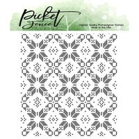 Picket Fence Studios - Clear Photopolymer Stamp - Sweater Pattern Maker