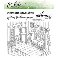 Picket Fence Studios - Clear Photopolymer Stamps - Wherever You Go