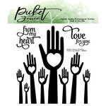 Picket Fence Studios - Clear Photopolymer Stamps - From My Heart