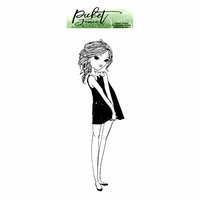 Picket Fence Studios - Clear Photopolymer Stamps - BFF Girl Avery