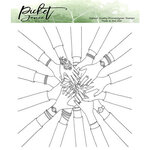 Picket Fence Studios - Clear Photopolymer Stamps - BFF My Tribe