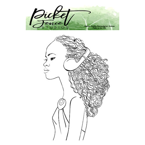 Picket Fence Studios - Clear Photopolymer Stamps - Kiesha