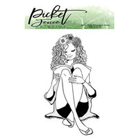 Picket Fence Studios - Clear Photopolymer Stamps - Fran Girl