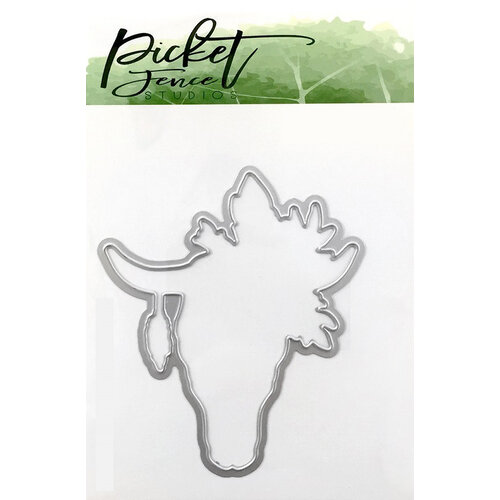 Picket Fence Studios - Dies - Boho Bull
