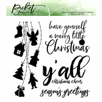 Picket Fence Studios - Clear Photopolymer Stamps - String of Lights