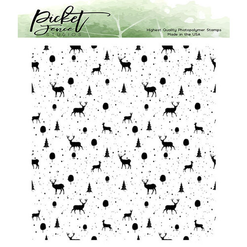 Picket Fence Studios - Clear Photopolymer Stamps - Reindeer Games
