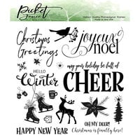 Picket Fence Studios - Christmas - Clear Photopolymer Stamps - A Joyeux Noel