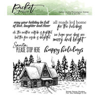 Picket Fence Studios - Clear Photopolymer Stamps - For the Holidays