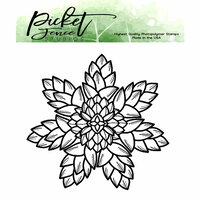 Picket Fence Studios - Clear Photopolymer Stamps - Succulent Floral
