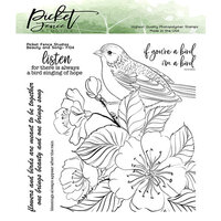 Picket Fence Studios - Clear Photopolymer Stamps - Beauty and Song