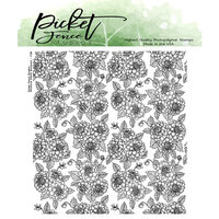 Picket Fence Studios - Clear Photopolymer Stamps - Miniature Dahlia Bouquet