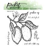 Picket Fence Studios - Clear Photopolymer Stamps - Pucker Up