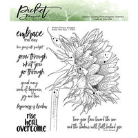 Picket Fence Studios - Clear Photopolymer Stamps - Face The Sun