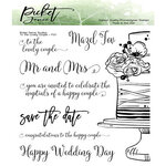 Picket Fence Studios - Clear Photopolymer Stamps - To the Lovely Couple