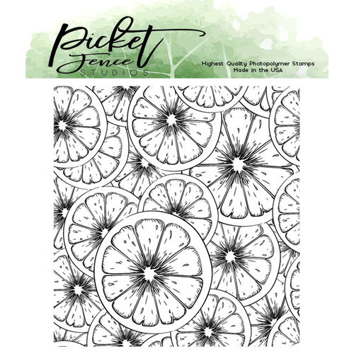 Picket Fence Studios - Clear Photopolymer Stamps - Fruitylicious