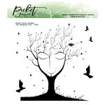 Picket Fence Studios - Clear Photopolymer Stamps - The Sleeping Tree
