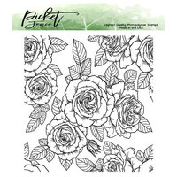 Picket Fence Studios - Clear Photopolymer Stamps - Roses For All Seasons