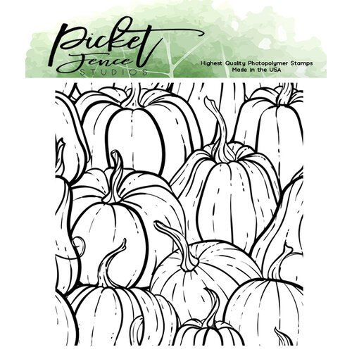 Picket Fence Studios - Clear Photopolymer Stamps - All The Gourds