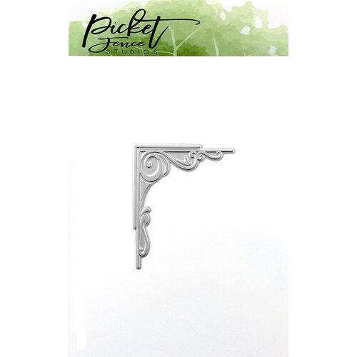 Picket Fence Studios - Dies - Fancy Corner Foil