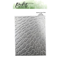 Picket Fence Studios - Dies - Feathers Cover Plate Foiled