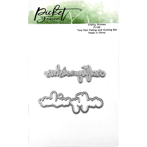 Picket Fence Studios - Dies - Crafty Wishes Foiled