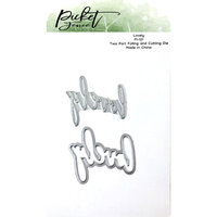 Picket Fence Studios - Dies - Lovely Foiled Impression