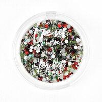 Picket Fence Studios - Christmas - Gem Mix - Candy Cane