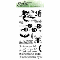 Picket Fence Studios - Clear Photopolymer Stamps - If The Broom Fits