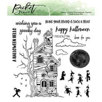 Picket Fence Studios - Clear Photopolymer Stamps - A Spooky Day
